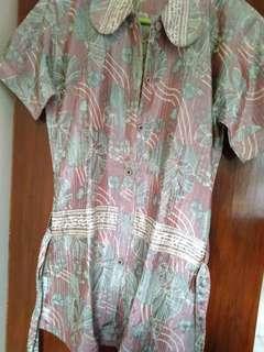 Blus Batik silky