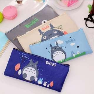 (3 for $6.5)Totoro Pencil Box