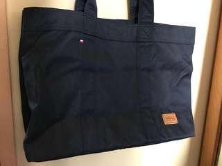 Aigle navy tote bag