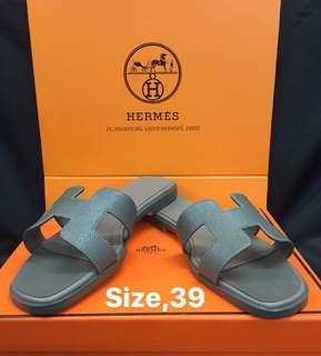 Hermes sandals Authentic Grade Quality size 39