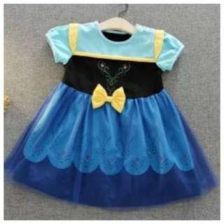 IN STOCK Frozen dress Anna dress Anna costume Children's day costume Halloween costume princess dress princess costume toddler girl baby