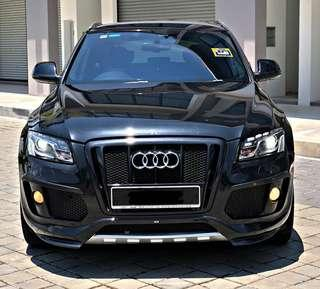 SAMBUNG BAYAR/CONTINUE LOAN  AUDI Q5 S-LINE 2.0 YEAR 2011/2015 MONTHLY RM 3000 BALANCE 3 YEARS ROADTAX JUNE 2019 ELECTRONIC LEATHER SEAT POWER BOOT REVERSE CAMERA TIPTOP CONDITION  DP KLIK wasap.my/60133524312/q5