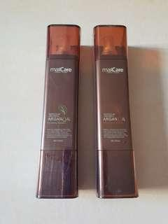 Maxcare Argan Oil Shampoo & Conditioner