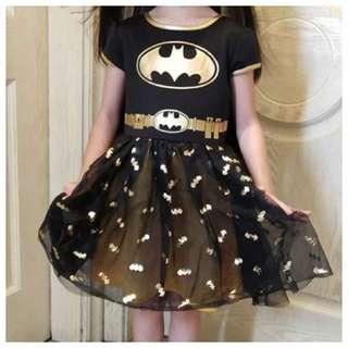 IN STOCK Batgirl dress batgirl costume girl superhero costume children's day costume Halloween costume
