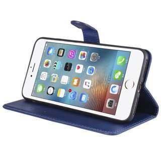6 Colors PU Leather Flip Cover Apple IPhone 6 6S 7 8 Plus +