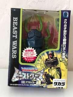 全新 日版 變形金剛 Transformers Beast Wars D-10 甲蟲