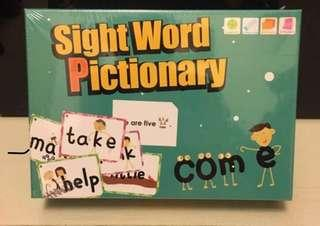 Rass Language 220 Sight Words Pictionary