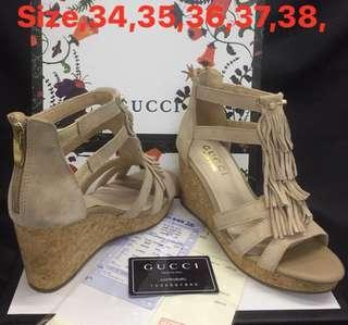 Gucci shoes wedge