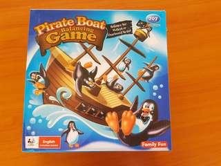 Pirate Boat Balancing Game