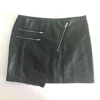 H&M Vegan Leather Skirt