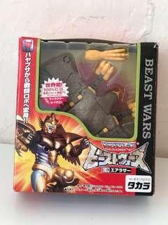 日版 變形金剛 Transformers Beast Wars C-10 Airazor 飛羅剎