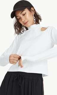 Arabella Long Sleeve Mock Neck  Top