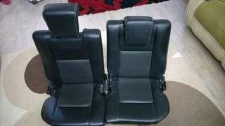 Toyota Wish Legend Rear PU Seat
