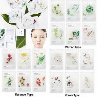 Innisfree It's Real Squeeze Mask (BUY 10 RM45.00)