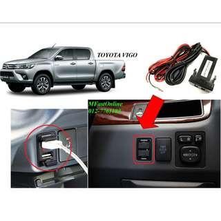 Twin USB Audio & Charging Port Toyota / Honda