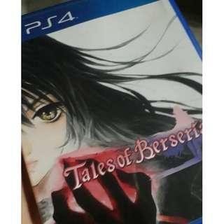 Tales of Berseria, TOB, PS4 GAME ENGLISH
