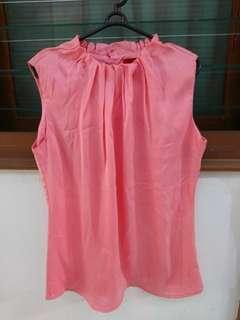 Preloved Blouse Wanita Pink Murah