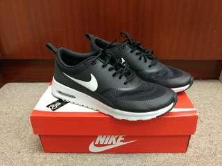 正版正貨 Nike Air Max Thea 黑色面白色底&字(有盒) 穿著百搭 37.5碼