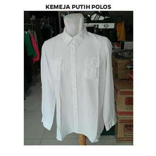 Kemeja Putih Polos
