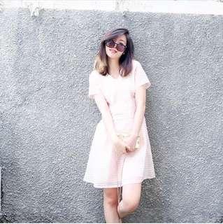 Organza Pink Dress