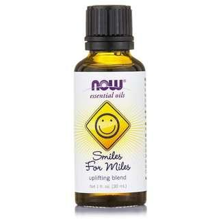 Smiles for Miles Uplifting Blend Essential Oils, Now Foods (30 ml)