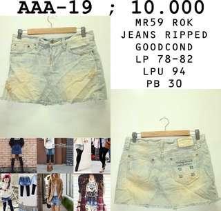 Rok jeans 10.000