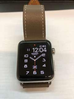Apple Watch 42mm⌚️ Series 2 不銹鋼(不是Hermes)
