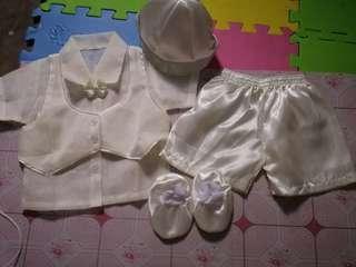 Christening set baby boy