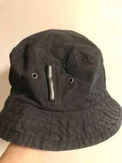 🎩(包郵) AX Armani Exchange 黑色漁夫帽