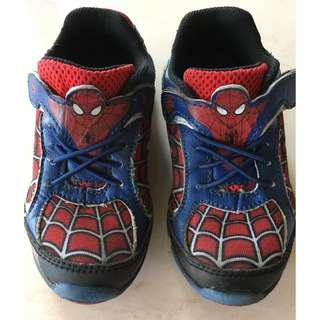 Stride Rite Ultimate Spider-Man Light-Up Sneakers/ Shoes (9 1/2 M)