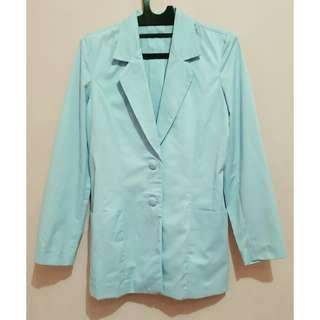 Sky Blue Formal Blazer
