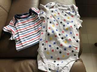 [Brand New] (12M-18M) M&S Baby Bodysuit