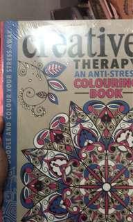Creative therapy book