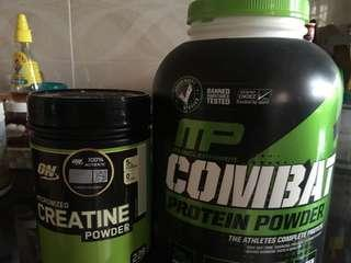 MP Protein Powder with micronised creatine combo