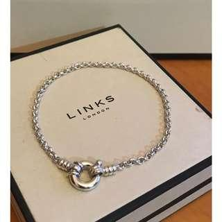 原價$570 Links Of London Sterling Silver Mini Belcher Bracelet