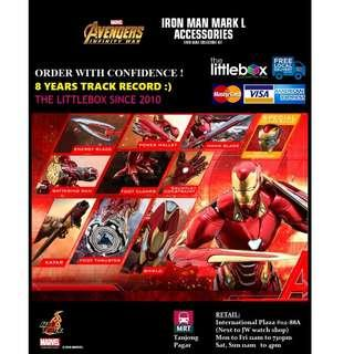 SPECIAL EDITION Hot Toys ACS004B - Avengers: Infinity War 1/6 Scale Iron Man Mark L Accessories Set Mark 50
