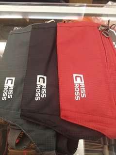 Criss cross waist bag travel
