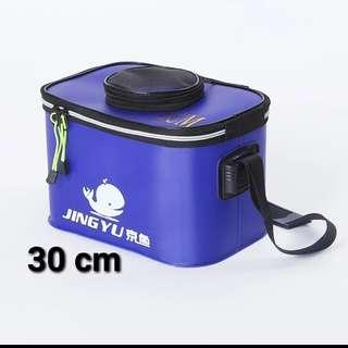 Car wash bucket pail Portable Bag Handle Fishing Bucket Outdoor Barrel Collapsible Folding