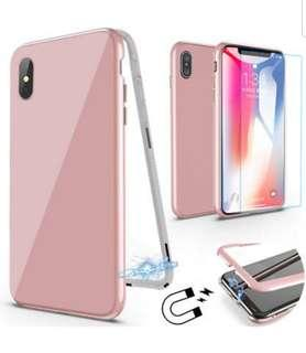 Instock Full Pink - Instock Apple Iphone x case and xs case