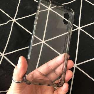 FREE IPHONE X CLEAR SILICONE CASE