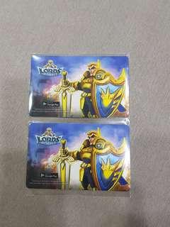 Lords Mobile Ezlink Card Limited edition