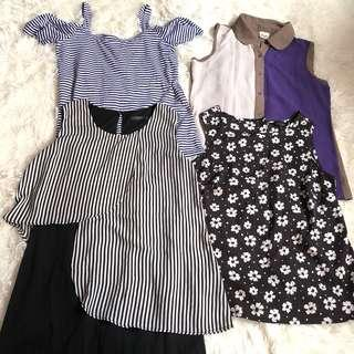 🚚 Bundle of Tops (Size S | UK 8)