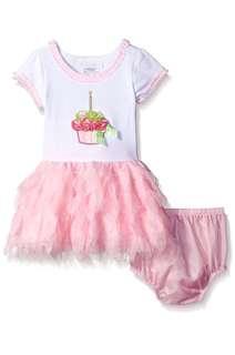 Bonnie baby pink tutu dress-12m