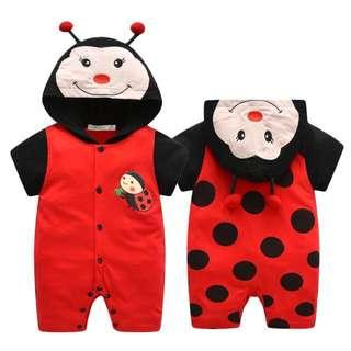 IN STOCK Baby ladybird costume ladybird romper insect costume insect romper children's day costume toddler ladybird romper costume Halloween costume