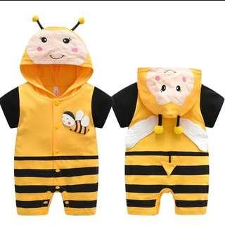 IN STOCK Bumble bee romper insect romper bumble bee costume insect costume children's day costume Halloween costume