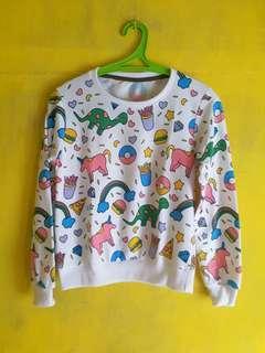 Jaket Sweater Lucu