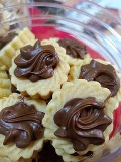 🍫Freshly baked Yummilicious Nutella Tarts Instock