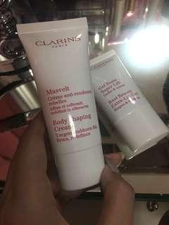 Clarins Body Shaping Cream and Bust Beauty Extra Lift Gel