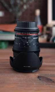 Samyang T1.5/35mm (for video dslr compatible with canon)