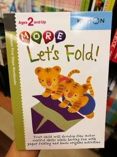 Kumon Let's Fold Book